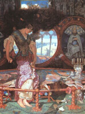 The Lady of Shalott by William Holman Hunt