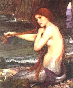 The Mermaid by John William Waterhouse