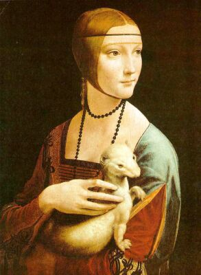 Leonardo da Vinci, Lady with an Ermine