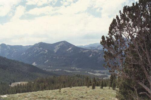Galena Summit in the Sawtooth Mountains