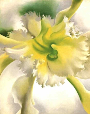 Yellow Orchid by Georgia O'Keeffe, 1941