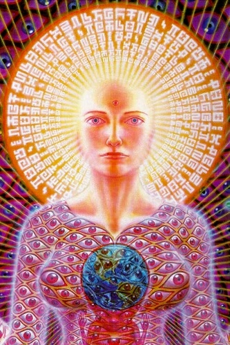 Sophia by artitst Alex Grey