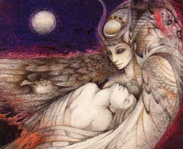 Isis and Osiris by Susan Seddon Boulet
