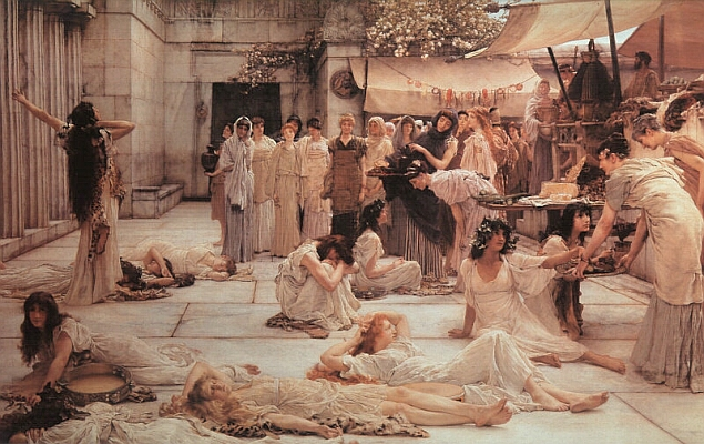 The Women of Amphissa, 1887