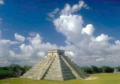 Pyramid of Quetzalcoatl - Chichen Itza, Mexico