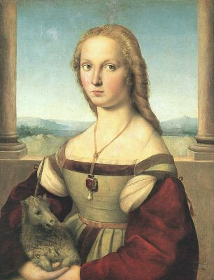 Raphael, Lady with a Unicorn
