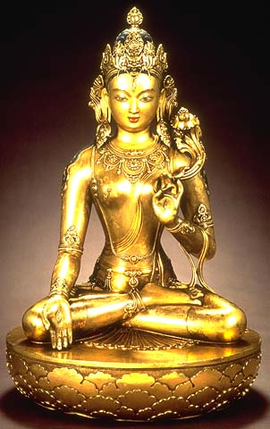 Tara by Zanabazar (1635-1723) from Mongolia